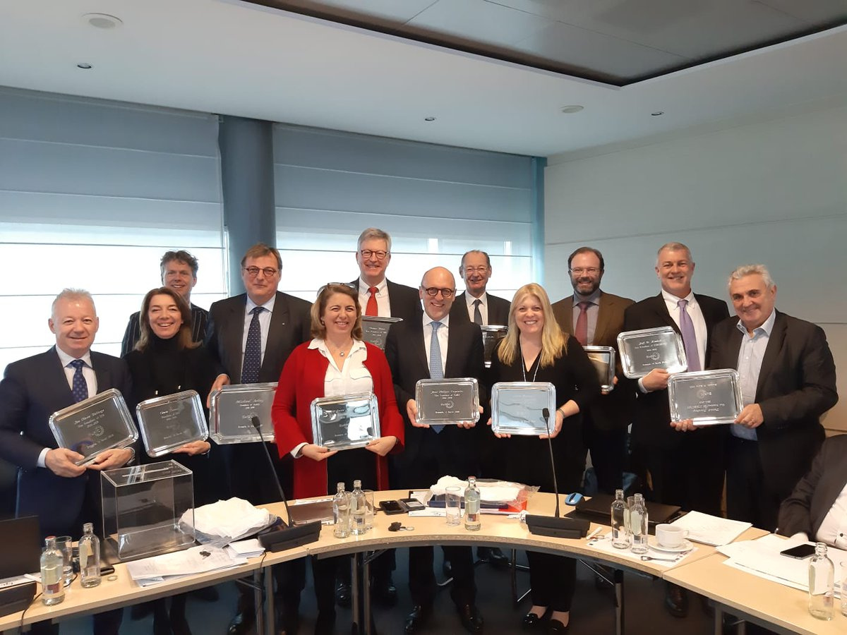EuRICs Board 2014 2019 picture
